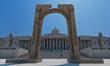 Triumphal Arch in Trafalgar Square - Artist Impression