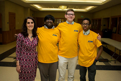 Students Join for Joe at Loyola Blakefield in 2015.