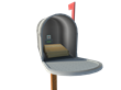 With the Smart Mailbox, we only make the effort to drive out to our mailbox when actual mail arrives