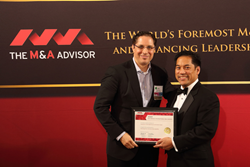 Technology Deal of the Year award presented to Broadline Capital for its role as lead investor in China Rapid Finance.