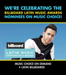 Top Level Latino Folders On Music Choice On Demand This April