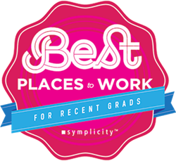 Symplicity Best Places to Work for Recent Grads 2015