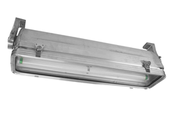 Hazardous Area Fluorescent Light Fixture with Two T8 Lamps