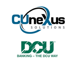 Cunexus logo and DCU logo