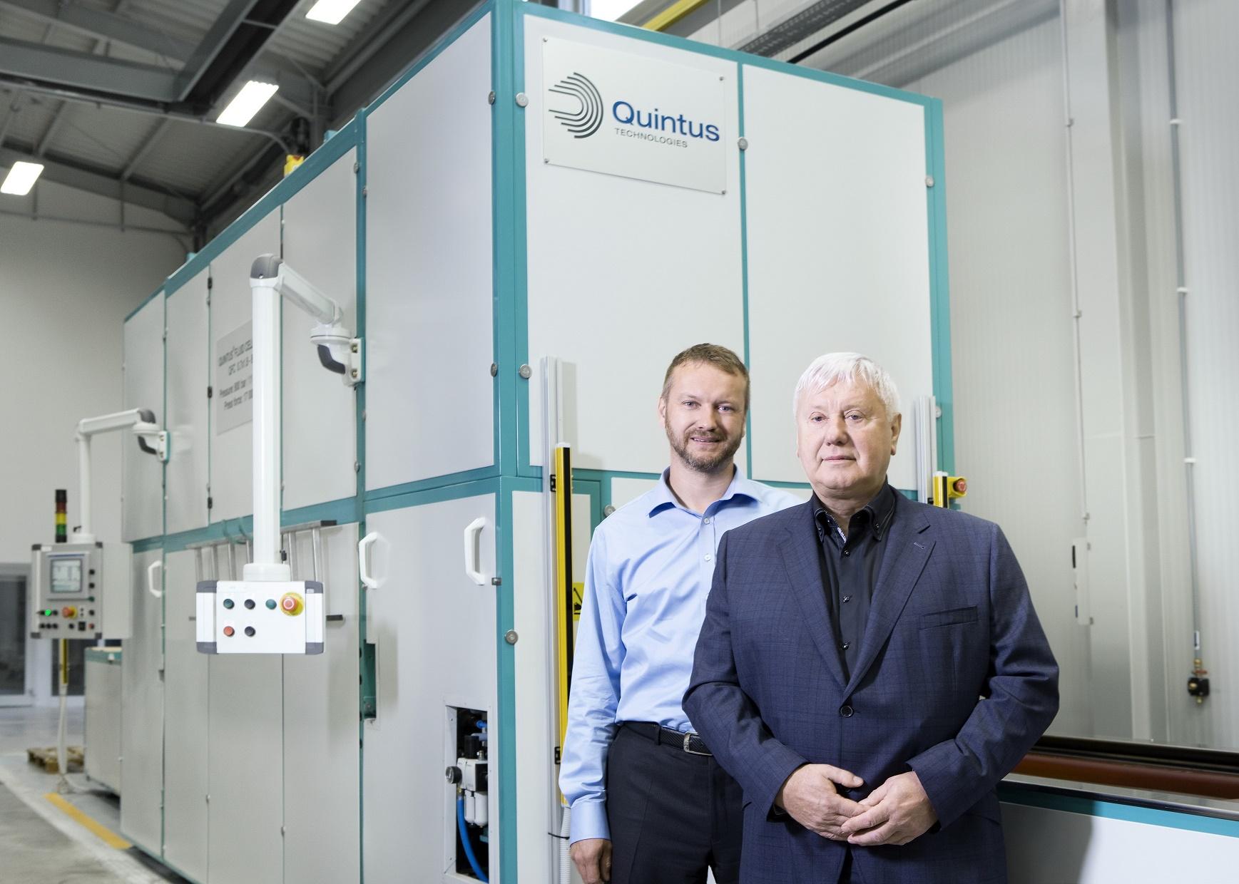 Quintus High Pressure Flexform Press Supports Expansion At