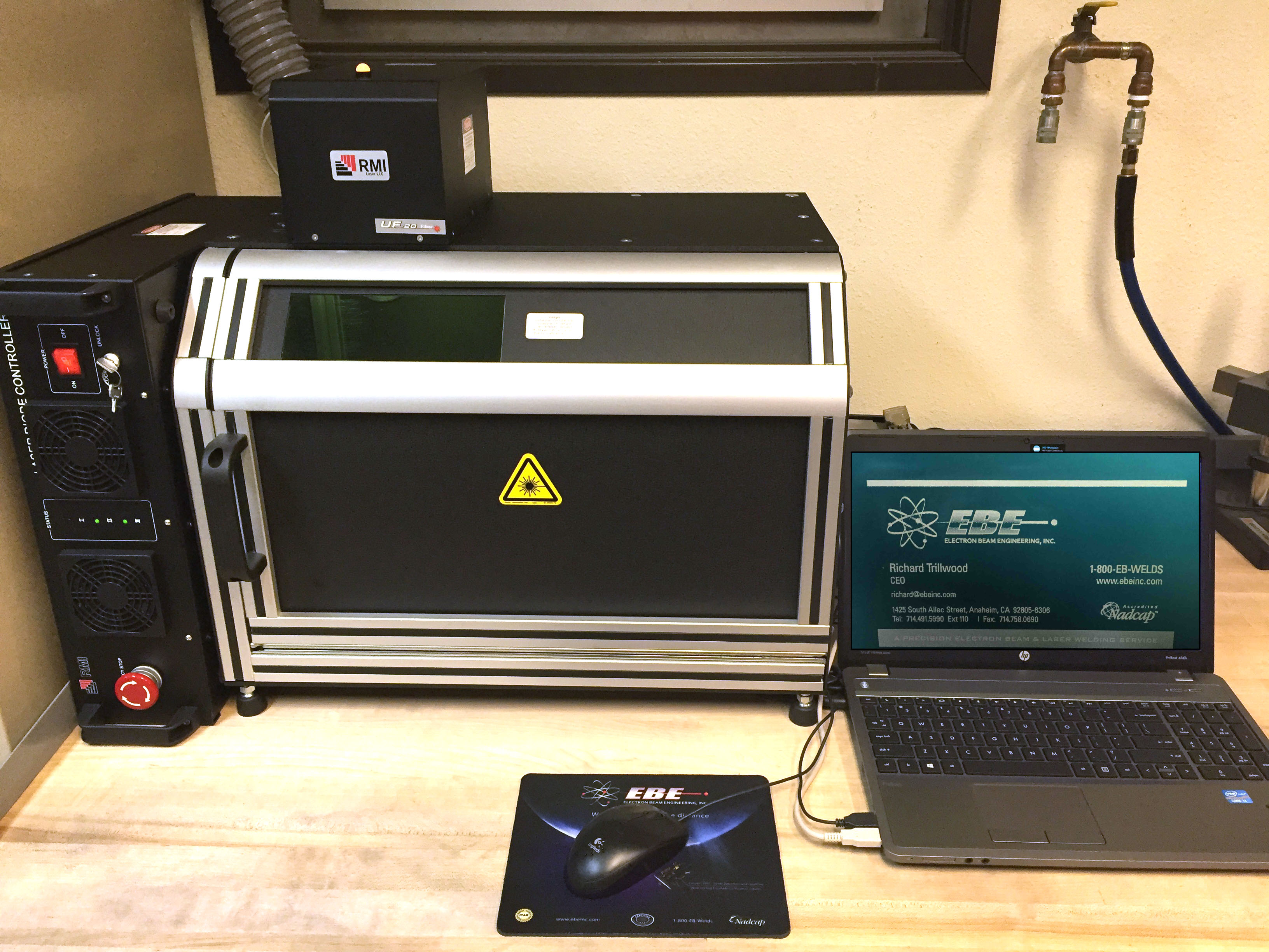 Electron Beam Engineering Now Offers Laser Marking In