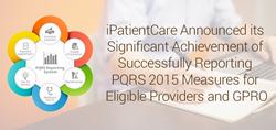 iPatientCare PQRS Reporting