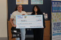 Financial Fitness Sweepstakes Winner
