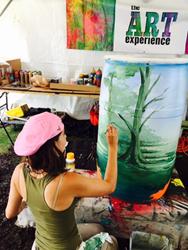 Briana Serna, Mellow Mushroom Art Experience