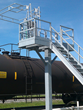 Benko Products Introduces GREEN Insta-Rack Pedestal Platforms That Provide Safe Access to the Tops of Single-Dome Tank Trucks and Hopper Cars