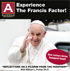 Francis Factor lectures launching at Alvernia University - April 26