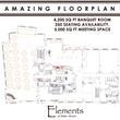 Elements Banquet Hall Floor Plan