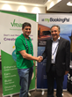 From left to right: Martin Picard CEO and Founder of Vreasy, Alex Aydin CEO and Founder of myBookingPal.