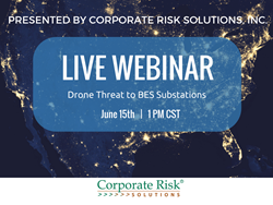 Drone risk to substations