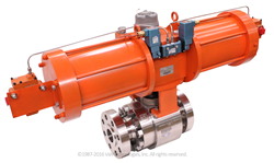 NexTech® pulsejet valve with EcoPack™ technology for the reduction of fugitive emissions.
