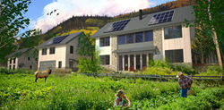 VISION House® at Mariposa Meadows  is a self-sufficient, carbon neutral development in Colorado