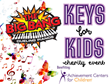 The Big Bang hosts Keys for Kids fundraiser on Friday, April 29th.