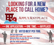 ApplyAnyplace® Voted Best PCS Tool for Off-Base Rental Housing