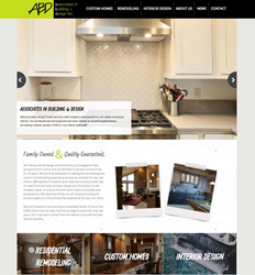 New Responsive Website for Associates in Building and Design