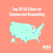 BuildFax Reveals The Top 20 US Cities For Commercial Remodeling