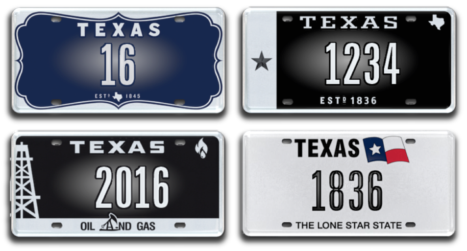 texas to auction 25 historic license plate numbers online. Black Bedroom Furniture Sets. Home Design Ideas