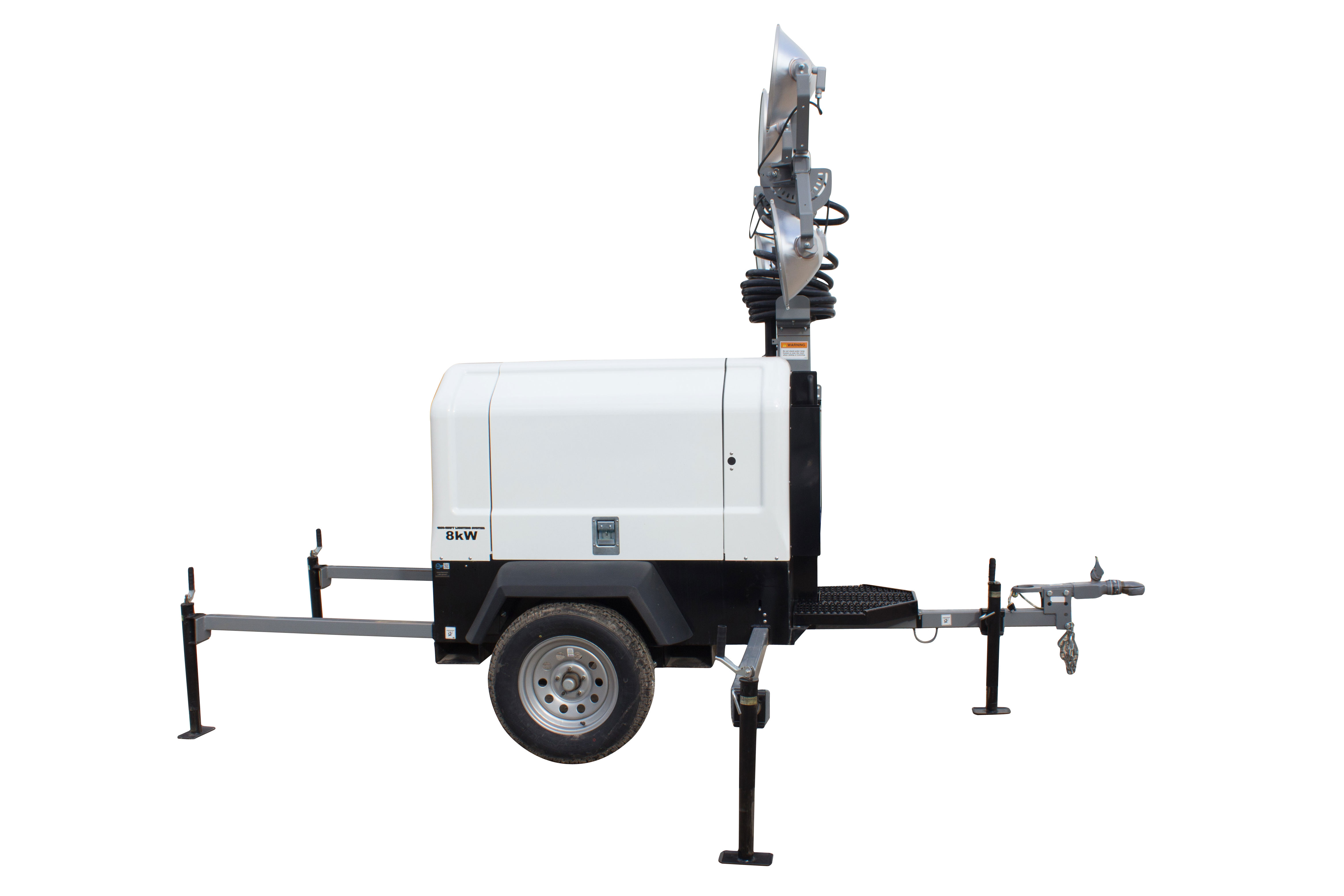 larson electronics releases mobile light tower with diesel. Black Bedroom Furniture Sets. Home Design Ideas