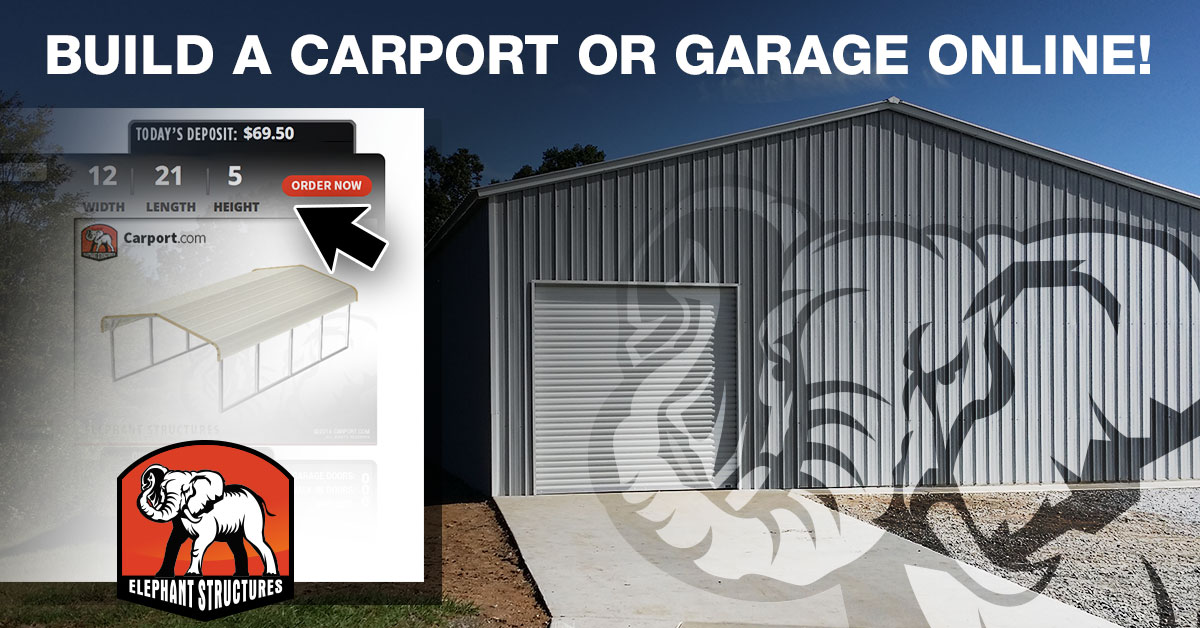 Shop Metal Garage And Carport Pricing With The New Building Designer At Carport Com Delivered And Installed Across The Usa