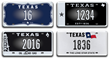 Auction Opens Today for Texas License Plate Historic Numbers