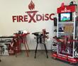 FireDisc Award-Winning Retail Display
