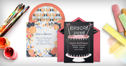 Handmade Art Invitation Collection