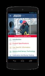 Gas detection training app.