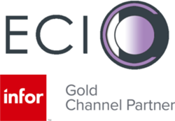 ECI business software applications consultancy has achieved Infor Gold Channel Partner status