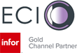 ECI Business Consulting Firm Achieves New Level: Infor Gold Channel Partner