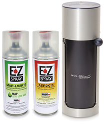 EZ Spray filler cans