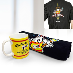 1 Shot Mug and T-shirt Package