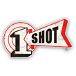1 Shot Logo Metal Sign