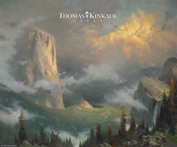 West Rim Yosemite Thomas Kinkade