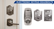 New Hickory Hardware® Electronic Keypad Deadbolt Places Fingertip Security in Homeowners' Hands