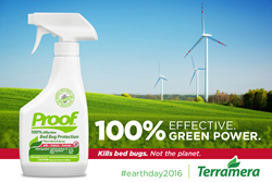 100% Effective Bed Bug Protection, 100% Green Power