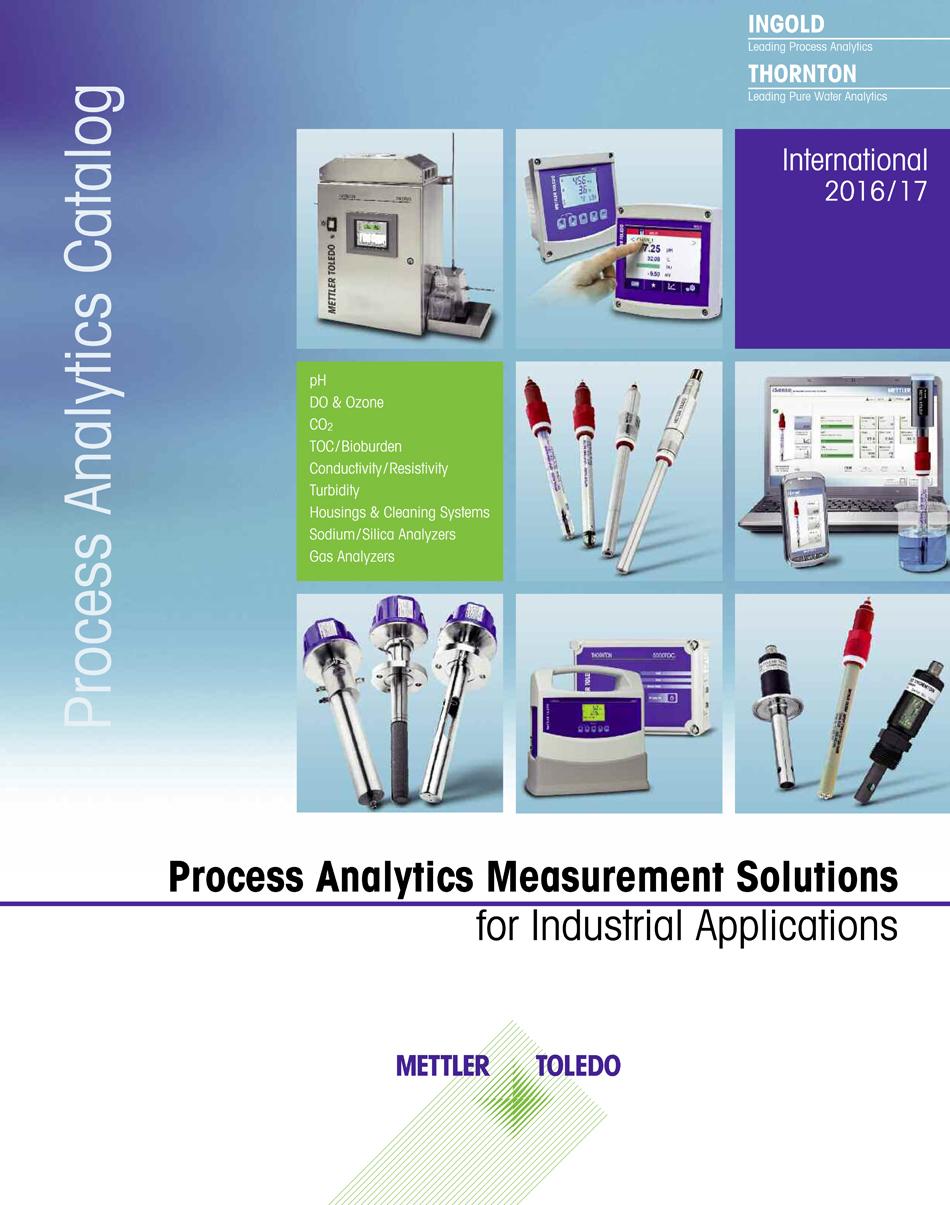 mettler toledo releases new process analytics product catalog