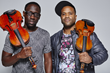 "Wil ""Wil B."" Baptiste(l.) and Kevin Marcus ""Kev"" Sylvester (r.) are Black Violin (Photo Credit: Colin Brennan)"