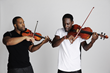 "Kevin Marcus ""Kev"" Sylvester (l.) and Wil ""Wil B."" Baptiste (r.) are Black Violin (Photo Credit: Colin Brennan)"