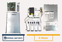 Minimus Servers vs the e-waste of typical OEM servers