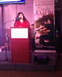 Founder Irma Resendez in 2014 at her Simply Amor book signing.