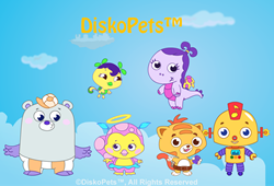 DiskoPets Online Educational Game World