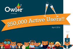 Owler Blows Past 250K Active Users