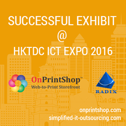 Radixweb  - Successful Exhibit @ HKICT 2016