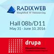 Drupa 2016 - Radixweb Set to Exhibit at Show