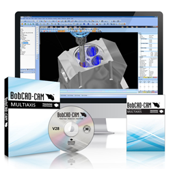V28 Multiaxis CNC Programming CAD-CAM Software Training DVDs