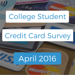 College Student Credit Card Survey April 2016